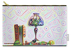 Tiffany Lamp Carry-all Pouch by Bill Cannon
