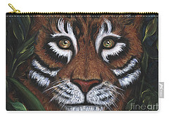 Carry-all Pouch featuring the painting The Hunt by Alga Washington