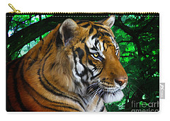 Tiger Contemplation Carry-all Pouch