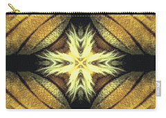 Tiger Cross Carry-all Pouch by Maria Watt