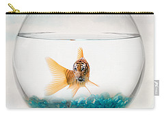 Tiger Fish Carry-all Pouch by Juli Scalzi