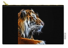 Tiger Fractal 2 Carry-all Pouch