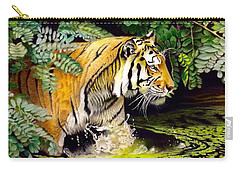 Tiger In The Sunderban Delta Carry-all Pouch