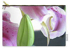 Tiger Lily Bud Carry-all Pouch