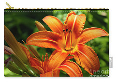 Tiger Lily Explosion Carry-all Pouch