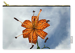 Tiger Lily In A Shower Carry-all Pouch