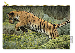 Tiger Lily Leeping Carry-all Pouch