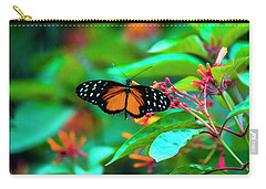 Tiger Longwing Butterfly Carry-all Pouch
