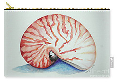 Tiger Nautilus Seashell Carry-all Pouch