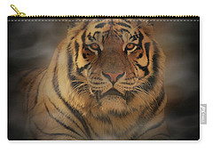 Tiger Carry-all Pouch by Sandy Keeton