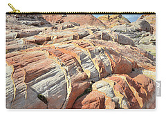 Tiger Stripes In Valley Of Fire Carry-all Pouch