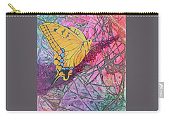 Tiger Swallowtail Carry-all Pouch by Nancy Jolley
