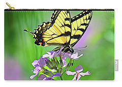 Carry-all Pouch featuring the photograph Tiger Swallowtail by Rodney Campbell