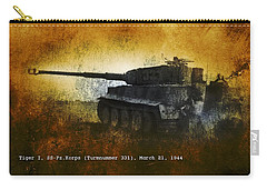 Tiger Tank Carry-all Pouch