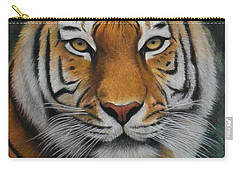 Tiger - The Heart Of India Carry-all Pouch