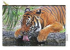 Thirsty Tiger Carry-all Pouch