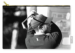 Tiger Woods Blk Wht  Carry-all Pouch