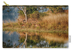 Tigerland Carry-all Pouch by Pravine Chester