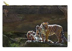 Tigers In The Night Carry-all Pouch