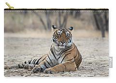 Tigress Arrowhead Carry-all Pouch by Pravine Chester