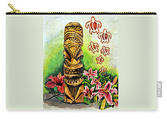 Tiki Still Life 2 Carry-all Pouch