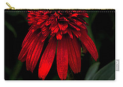 Carry-all Pouch featuring the photograph Tiki Torch by Judy Wolinsky