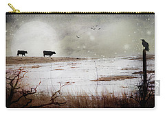 'til The Cows Come Home Carry-all Pouch by Theresa Tahara