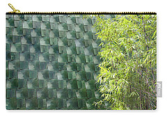 Tile Wall Of The Ringling Museum Asian Art Center Carry-all Pouch
