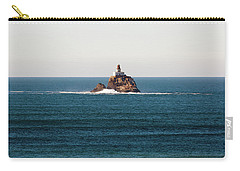 Tillamook Rock Lighthouse On A Calm Day Carry-all Pouch