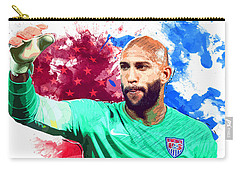 Tim Howard Carry-all Pouch by Semih Yurdabak