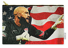 Tim Howard Carry-all Pouch by Taylan Apukovska