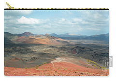 Timanfaya Panorama Carry-all Pouch by Delphimages Photo Creations