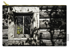 Carry-all Pouch featuring the photograph Timber Hand-crafted by Brad Allen Fine Art