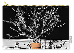 Carry-all Pouch featuring the digital art Time Aerials Time Aerials In A Pot by Russell Kightley