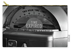 Time Expired Carry-all Pouch