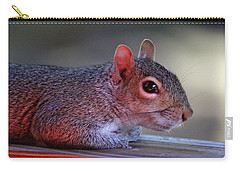Carry-all Pouch featuring the photograph Time For A Rest by Trina Ansel