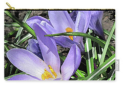Time For Crocuses Carry-all Pouch