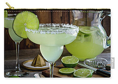 Carry-all Pouch featuring the photograph Time For Margaritas by Teri Virbickis