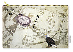 Time Is Money Carry-all Pouch by Diane Schuster