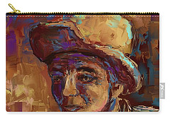 Carry-all Pouch featuring the mixed media Time Lines by Eduardo Tavares