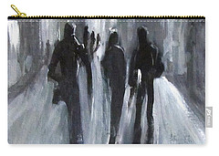 Time Of Long Shadows Carry-all Pouch by Barbara O'Toole