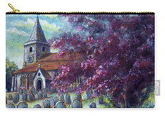 Time Our Companion Carry-all Pouch by Retta Stephenson