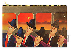 Time Passes By Carry-all Pouch by Thomas Blood