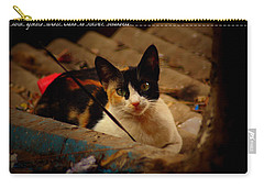 Time Spent With Cats. Carry-all Pouch by Salman Ravish