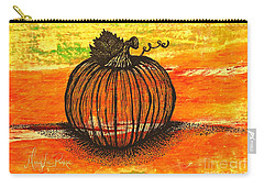 Time To Get Pumkin Carry-all Pouch
