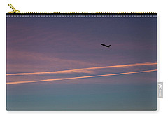 Carry-all Pouch featuring the photograph Time To Go by Lora Lee Chapman
