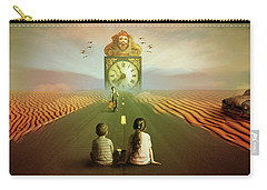 Carry-all Pouch featuring the digital art Time To Grow Up by Nathan Wright