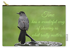 Carry-all Pouch featuring the photograph Time by Trina Ansel