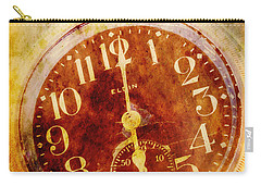 Time Carry-all Pouch by Valerie Reeves