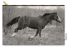 Timeless And Hopeful Horse  Carry-all Pouch